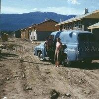 Bill Frahler's truck and family