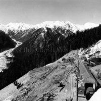 Muck dump slope 2600'