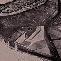 Aerial View of City Centre and Nechako