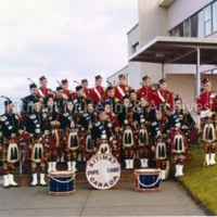 Pipe Band Formal Portrait
