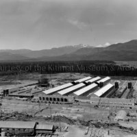 Construction of smelter lines numbers 1 and 2