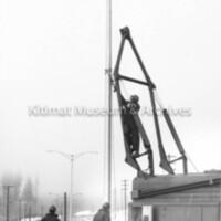 Haisla-Kuldo intersection gets new lights