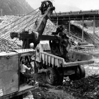 Tailrace channel excavation