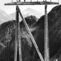 Workers standing on Tower No. 112L