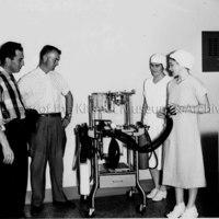 Kinsmen Club Donating Anesthetic Machine to Hospital