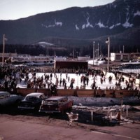 Kitimat's first ice rink