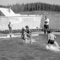 Swimming - Kitimat YMCA 1960's Wading pool