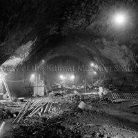 Upper powerhouse excavation