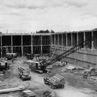 Caisson construction for Alcan dock