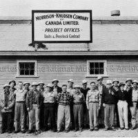Morrison-Knudsen Company superintendents