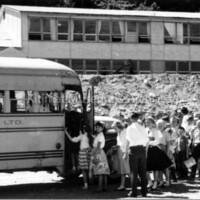 Old Smeltersite School bus