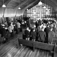 Congregation at Kitimat Presbyterian Church