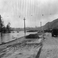 High water of Kitimat River