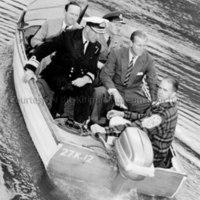 Duke of Edinburgh leaving Kitimat