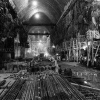 Interior of Alcan's power chamber