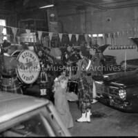 Pipe Band Performing at Pryde Motors