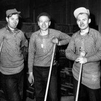 Potline workers